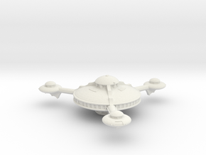 Omni Scale Romulan Base Station MGL in White Natural Versatile Plastic