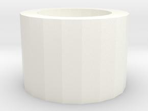 Epic Lappi in White Processed Versatile Plastic: Medium