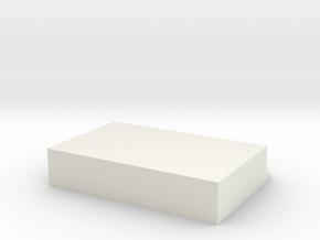Cat Letter box in White Natural Versatile Plastic: Medium