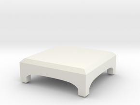 Little Desk in White Natural Versatile Plastic: Medium