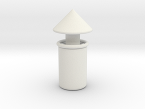 移動式小夜燈 stl. in White Premium Versatile Plastic