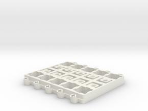Switch Modding Station 5 x 2 in White Natural Versatile Plastic