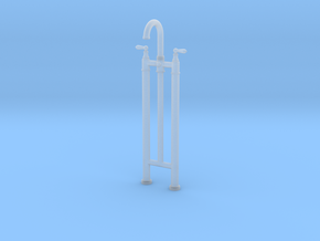 Bath Faucet Standing - Traditional in Smooth Fine Detail Plastic