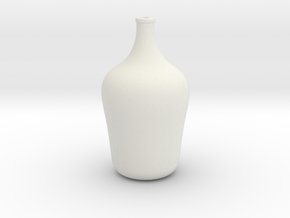 Floor Vase - Medium in White Natural Versatile Plastic