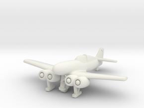 (1:144) Junkers EF.018 in White Natural Versatile Plastic