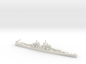 US Baltimore-Class Heavy Cruiser in White Natural Versatile Plastic
