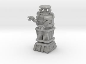 .75 inch tall HO scale Bot in Aluminum