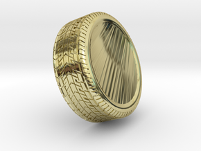 tire  in 18K Yellow Gold: Extra Large