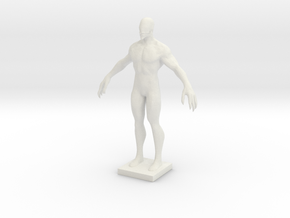 Printle V Homme 1934 - 1/24 in White Natural Versatile Plastic