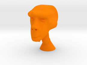 Arex Head for New 2018 Mego Body in Orange Processed Versatile Plastic