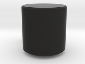 CUP in Black Natural Versatile Plastic