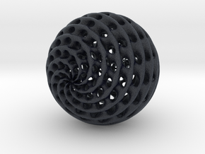 Diamond Sphere in Black PA12