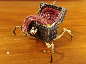 Crawling Chest Mimic in Smooth Fine Detail Plastic