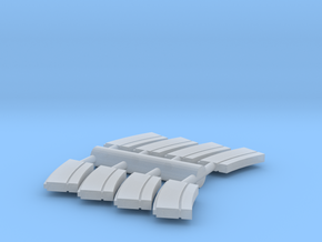 8 x 1/56 IJN Type 93 13mm magazine  in Smooth Fine Detail Plastic