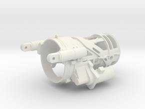 M197 Housing (Part 3/5) for Vario Cobra 1/7 Scale in White Natural Versatile Plastic