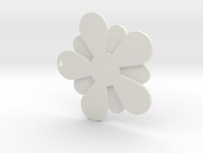 Plum blossom in White Premium Versatile Plastic