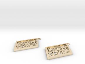 Tiana earrings in 14K Yellow Gold: Small