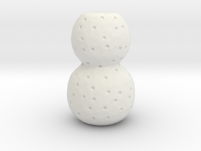 Ultima Thule scale models in White Natural Versatile Plastic: Small