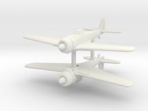 1/200 Nakajima Ki-43 III Otsu (x2) in White Natural Versatile Plastic