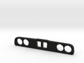 E30 Car Grill Keychain in Black Natural Versatile Plastic