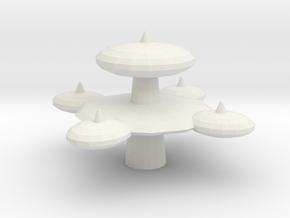 Starbase Zero in White Natural Versatile Plastic