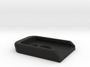 EF Glock baseplate in Black Natural Versatile Plastic