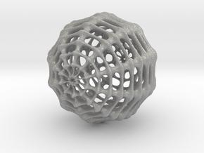Skeletal Sphere in Aluminum