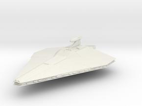 5000 Acclamator II class Star Wars in White Natural Versatile Plastic
