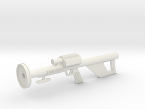 Lost in Space Season 2 /3 Laser Rifle in White Natural Versatile Plastic