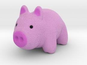 Pig in Natural Full Color Sandstone