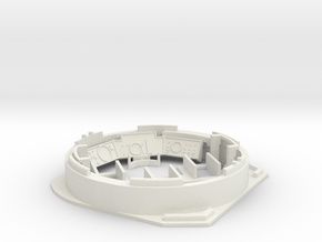 Leopard1_DT_turret_1_16_pt2of4 in White Natural Versatile Plastic