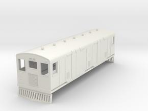 o-87-bermuda-railway-motor-van-30 in White Natural Versatile Plastic