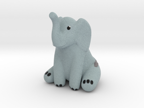 Elephant in Natural Full Color Sandstone