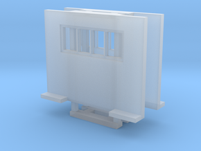 Cab Guard With Window 2 Pack 1-87 HO Scale in Smooth Fine Detail Plastic