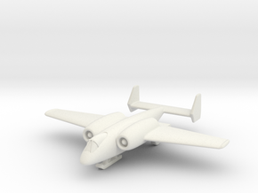 """(1:200) Junkers """"Unnamed"""" Ground Attack Aircraft in White Natural Versatile Plastic"""