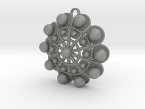 """Charro Pendant, 40mm (1.6"""") in Gray Professional Plastic"""