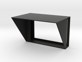 Panasonic UX90 Sunhood in Black Natural Versatile Plastic