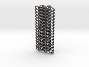 Chainmail Bracelet v20 v1 Finn in Polished Nickel Steel