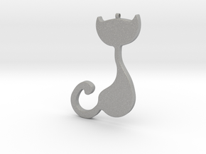 Cad Necklace / Pendant-20 in Aluminum