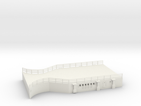 1/144 Scharnhorst Hangar Deck in White Natural Versatile Plastic