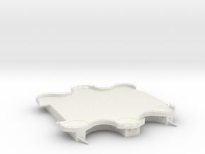 1/144 DKM Scharnhorst Funnel Deck Aft in White Natural Versatile Plastic