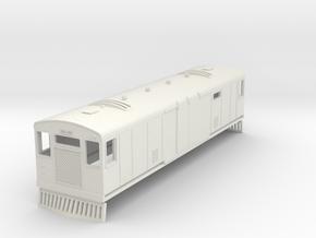 o-76-bermuda-railway-motor-van-100 in White Natural Versatile Plastic
