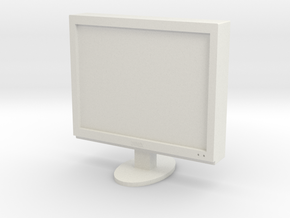 Printle Thing Monitor - 1/24 in White Natural Versatile Plastic
