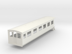 o-32-bermuda-railway-pullman-coach in White Natural Versatile Plastic