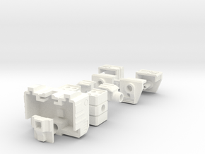 Siege Deluxe Class COG Add On Kit (Full  Kit) in White Processed Versatile Plastic