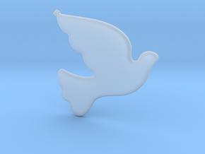 Bird-Dove-01 in Smooth Fine Detail Plastic