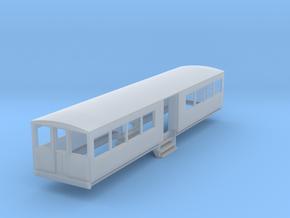 o-148fs-bermuda-railway-toast-rack-coach in Smooth Fine Detail Plastic
