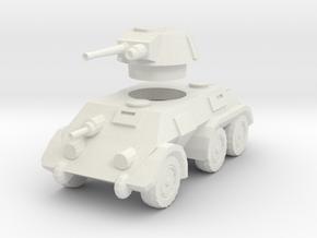 1/100 Pantserwagen DAF M39 in White Natural Versatile Plastic
