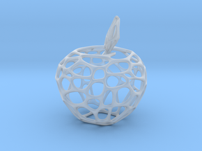Voronoi Apple in Smooth Fine Detail Plastic