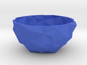 bowl one in Blue Processed Versatile Plastic
